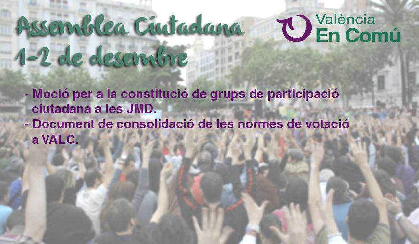 Participa en les votacions obertes